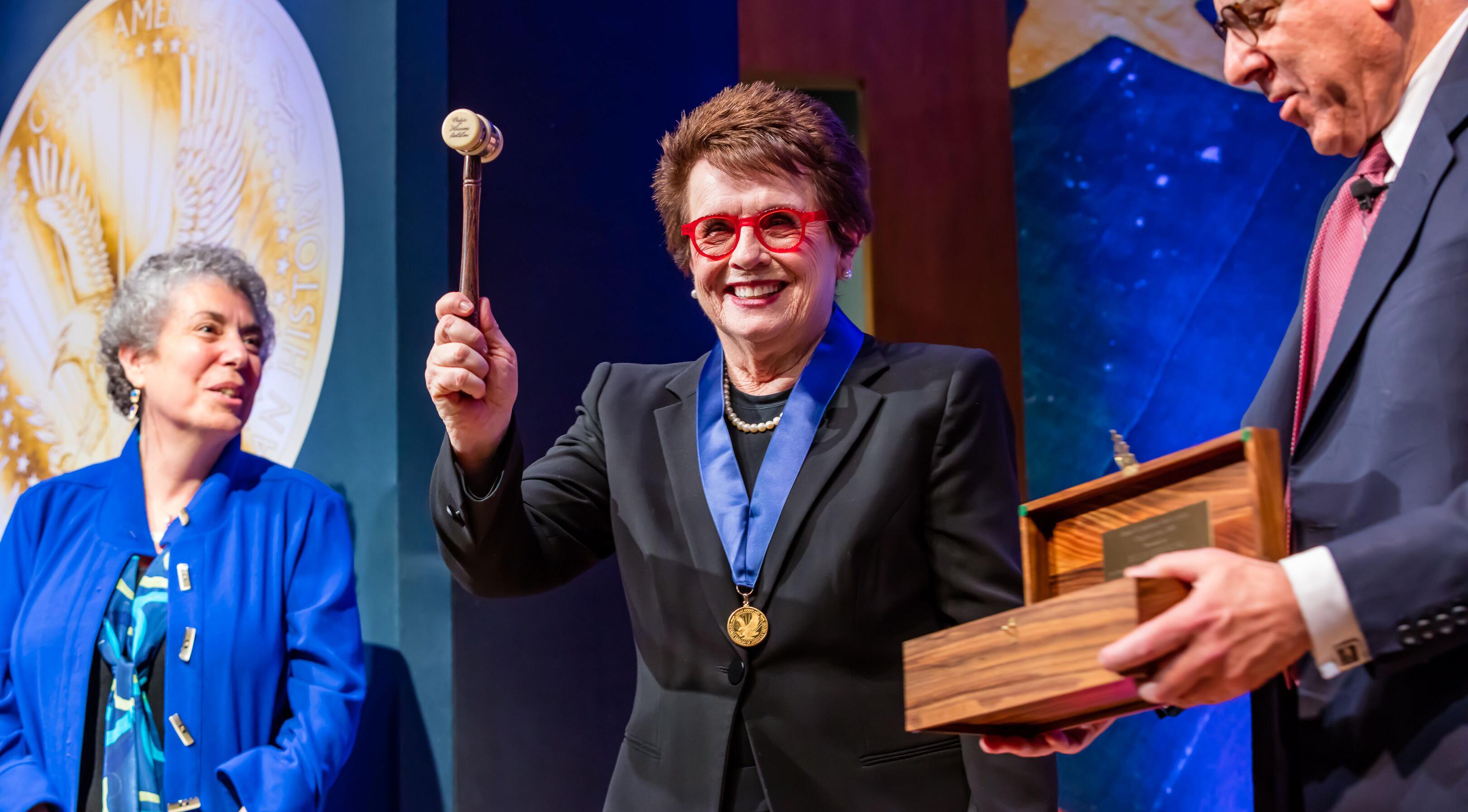 Billie Jean King <p>Sports Legend and Activist</p> photo